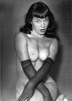 Wild Hardcore Bettie Page Nude Vintage Tumblr