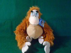 DISNEYS jungle book ORAGATANG KING stuffed animal  NWT great condition