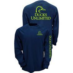 Ducks Unlimited Adults' Long Sleeve T-shirt