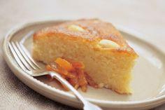 Orange and Almond Semolina cake