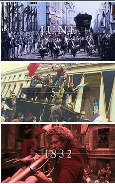 june 5th les miserables!! That's today!