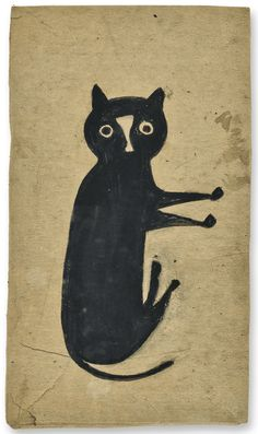 The Met Exhibits Rarely Seen Drawings by Bill Traylor by Brittany ...