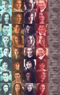 The Cullen's in *The Twilight Saga* I love Alice and jasper soo much! Twilight Poster, Twilight Saga Quotes, Twilight Wolf, Twilight Saga Series, Twilight Cast, Twilight Breaking Dawn, Twilight New Moon, Twilight Movie, Robert Pattinson