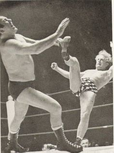 Professional Wrestling on a Saturday afternoon after fish and chips for lunch watching Jackie Pallo and Mick McManus battling it out with my Grandparents, yelling at the telly at their illegal moves, i.e. punching!!