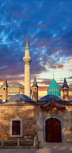 Mevlâna Museum in Konya, Turkey