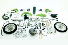 2005 Kawasaki Kx250 Dismantled