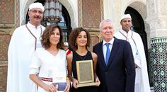 C'est la journaliste et écrivain franco-marocaine, Leïla Slimani, qui vient de remporter le Prix de la sixième édition du Prix Littéraire de La Mamounia
