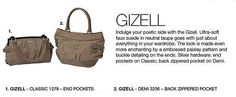 September Spotlight - GIZELL - expected to arrive mid to late September. Book your parties now! *Miche Canada* #michecanada #michefashion #fashion #style #purses #handbags #accessories