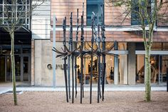 Structure of Self Copper, forged steel 250 x 250 x 400 cm One-off Forging Metal, Forged Steel, High Carbon Steel, Bronze Age, Old Art, Ancient Art, Woodstock, Blacksmithing, Wrought Iron