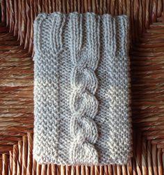 Sooooo cute! Cable Knit ICOZY for ipad