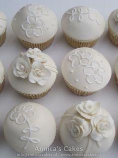 Wedding cupcakes / Bruidscupcakes