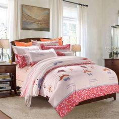 Home Textile 3/4pc Bedding Sets Size for Twin Full Queen king Home