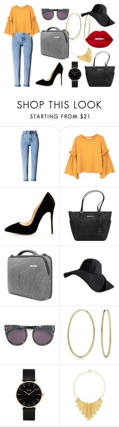 """""""Right now"""" by pinkybunny on Polyvore featuring moda, MANGO, Michael Kors, Incase, STELLA McCARTNEY, Bling Jewelry, CLUSE, BERRICLE y Lime Crime"""