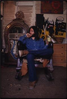 Neil Young, 1971. Henry Diltz Photography