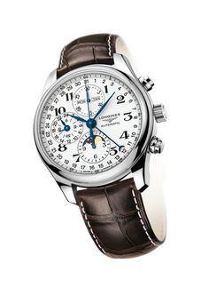 L2.673.4.78.3 - The Longines Master Collection . Moonphase