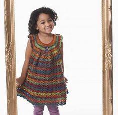 Dentelle Pinafore Girl - Roundup de 12 modèles magnifiques et GRATUIT Crochet Robe pour les filles!