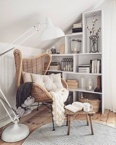 traditional modern home decor - Room Design Living Room Decor, Bedroom Decor, Bedroom Furniture, Bedroom Ideas, Furniture Decor, Book Corner Ideas Bedroom, Furniture Design, Furniture Layout, Den Decor