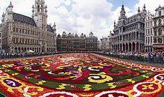 Brussels floral carpet B. La Grand-Place de Bruselas