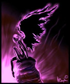 Purple Angel..........