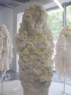 comme des garçons white drama exhibition at les docks cité de la mode et du design, paris, 2012