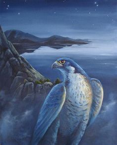 """NIGHTWATCH"" - Original Fine Art for Sale - © Barry Howard"