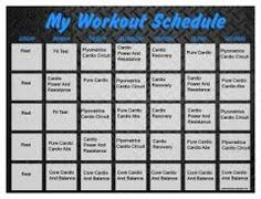 Insanity Workout Calendar  Pdf  Fitness    Insanity