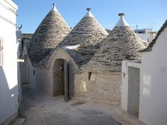 Alberobello: Staying in an Italian Hobbit Town Southern Europe, Southern Italy, Alberobello Italy, Stone Masonry, Italy Spain, Dry Stone, Holiday Places, Spain And Portugal, Old Buildings