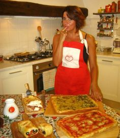 #Eat in #Florence, #Italy: Dine with Elisabetta in a Roman-style party! Mmmmm