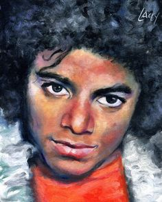 Handsome painting of Michael Jackson. Michael Jackson~You Can Do It 2. www.zazzle.com/Posters?rf=238594074174686702
