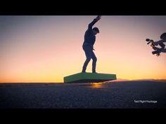 Flotar en el aire con este monopatín volador es una realidad... si tenemos 20.000 dólares