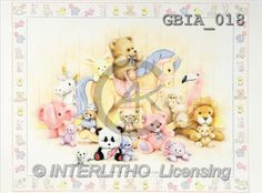 Keith, BABIES, paintings, horse, toys(GBIA018,#B#) bébé, illustrations, pinturas