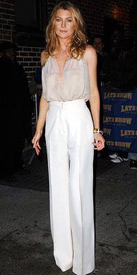Pantalones blancos perfectos