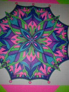 ColorIt Mandalas to Color Volume 1 Colorist: Becky Hale #adultcoloring #coloringforadults #mandalas #mandala #coloringpages