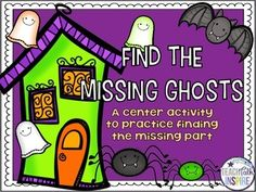 you looking for a fun and engaging way to get your students to practice finding the missing part of a subtraction sentence? Then this seasonal math center is the activity for you! Halloween Math, Halloween Activities, Autumn Activities, Happy Halloween, Activity Centers, Math Centers, Subtraction Games, Second Grade Math, Emergent Readers