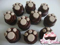 Mini cupcakes Safari