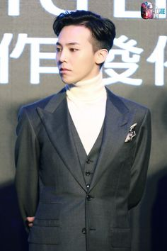 G-Dragon at Tencent·QQMusic x YG Entertainment Press Conference Kpop, G Dragon Fashion, Vip Bigbang, Gd And Top, Bigbang G Dragon, Choi Seung Hyun, Ji Yong, Fandom, Seungri
