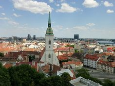Last week I spent four days in Bratislava, Slovakia. It's a small capital city, very small, in fact, with a population of only or so. Bratislava Slovakia, Capital City, Family Travel, Travel Tips, Beautiful Pictures, Building, Inspiration, Image, Family Trips