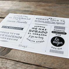 Kit ANIVERSARIO. Diseño de Mr.Wonderful. A la venta en: http://www.mrwonderfulshop.es