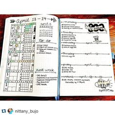 Mais páginas semanais  #Repost @nittany_bujo with @repostapp. ・・・ Really liking this weeks spread! I'm still gonna tweak some things for next week and move my habit tracker here (cause I'm really bad at flipping back to my monthly page to fill it out). Happy Wednesday!  ----------------------------------- Use #bujoinspire para compartilhar seu BuJo conosco, caso sua conta seja privada envie por Direct. #bulletjournal #bulletjournaling #planner #plannercommunity #planneraddict #planners #p...