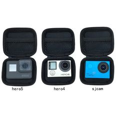 Travel accessories Action Camera Case for GoPro Hero 7 6 5 4 Session for Xiaomi YI for SJCAM EKEN for Go pro Accessories - Jees Travels