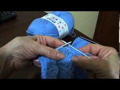 Macacão em tricô para bebê Parte 5