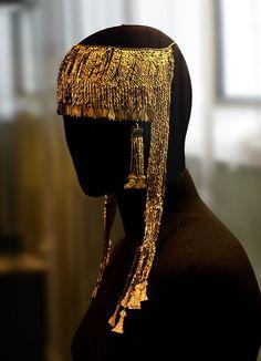 "Priam's Treasure. The ""big"" diadem.The Pushkin State Museum of Fine Arts."