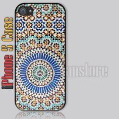 Arabic Art Pattern iPhone 5 Case Cover
