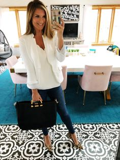 10 Outfits To Wear Right Now [Work Casual Events] Living in Yellow Women Fashion Business Casual Outfits, Office Outfits, Office Wear, Office Uniform, Business Wear, Office Wardrobe, Capsule Wardrobe, Womens Fashion For Work, Work Fashion
