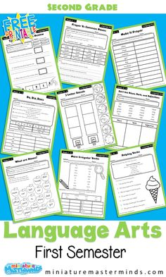 6th Grade Worksheets, First Grade Curriculum, Free Worksheets For Kids, Homeschool Kindergarten, Free Printable Worksheets, Kindergarten Worksheets, Free Printables, Homeschooling, Letter Blends