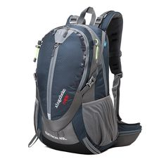 e8944231a61cb XZK Spot wholesale outdoor mountaineering bag 40 liters 50L men and women  universal Hiking Backpack waterproof