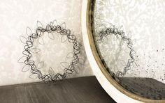 Round Wire Wreath by ValonaDesign on Etsy www.valona.fi