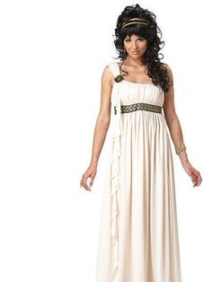 This Womens Olympic Goddess Costume is a great Roman or Greek costume idea. Get this goddess costume for a toga party or Halloween. Goddess Fancy Dress, Greek Goddess Dress, Greek Goddess Costume, Godess Costume, Grecian Goddess, Adult Costumes, Costumes For Women, Greek Costumes, Roman Costumes
