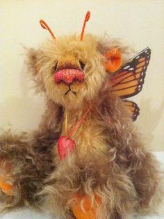Blugal by Dusty Attic Bears Chloe Wilson- so cute...huggable