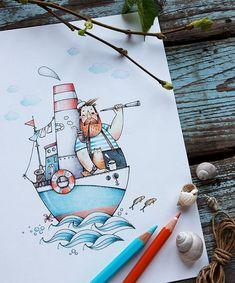 712 Likes 18 Comments Natasha Doodle Art Drawing, Pencil Art Drawings, Watercolor Drawing, Cute Drawings, Painting & Drawing, Watercolor Paintings, Art And Illustration, Watercolor Illustration, Illustrations